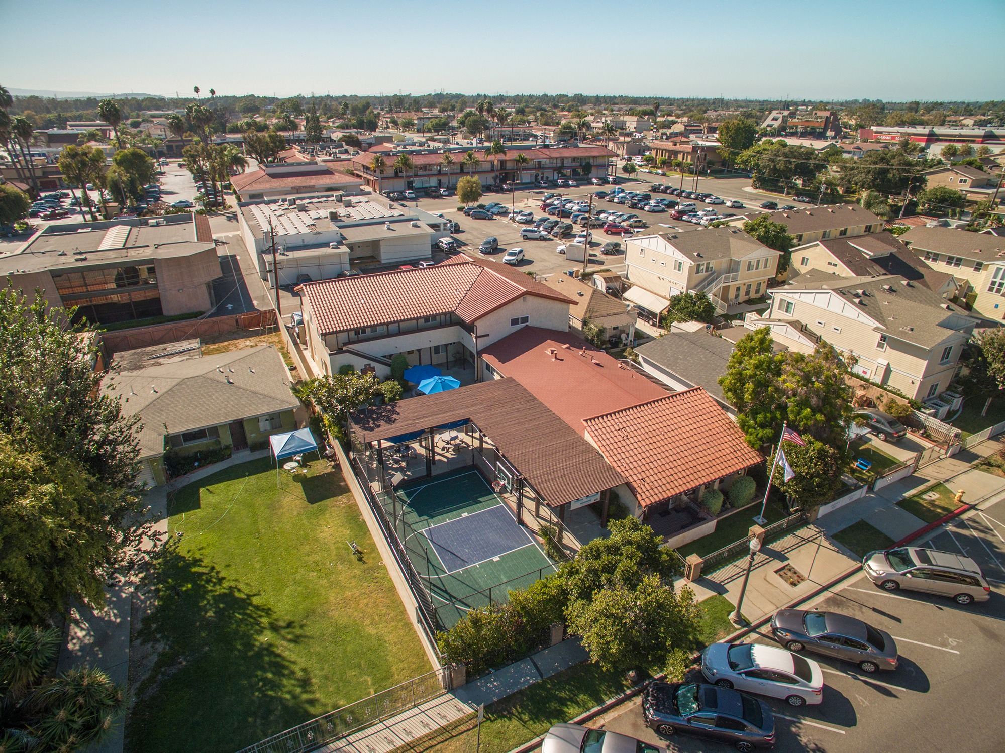 Casa Youth Shelter Aerial