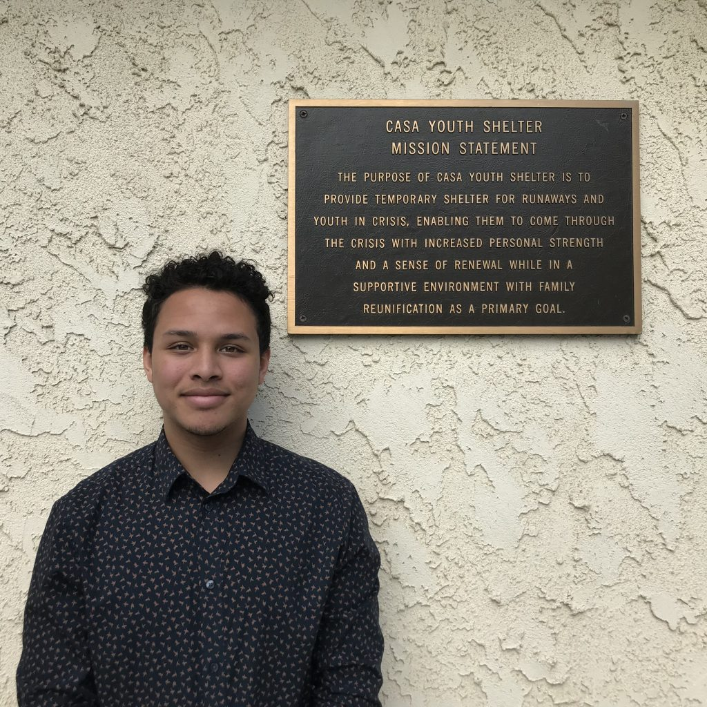Casa Youth Shelter Alumni Spotlight: Zion